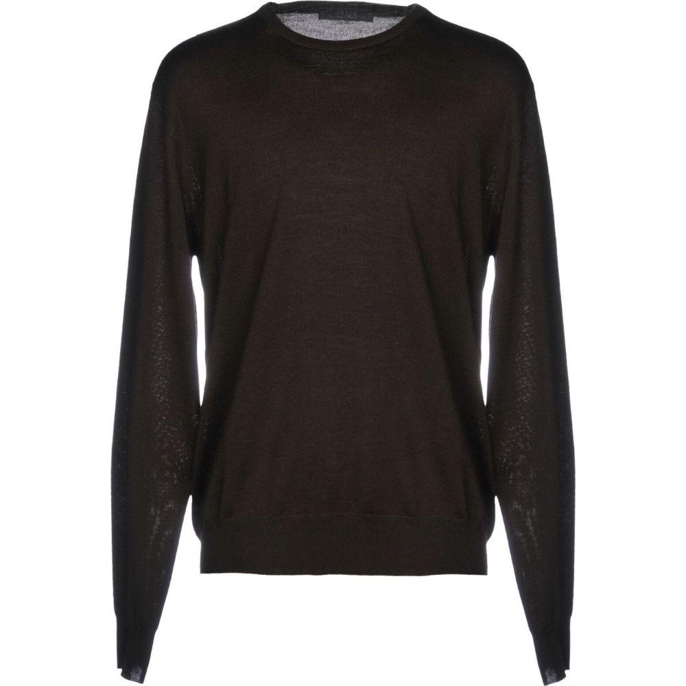 ブイネック VNECK メンズ ニット・セーター トップス【sweater】Dark brown