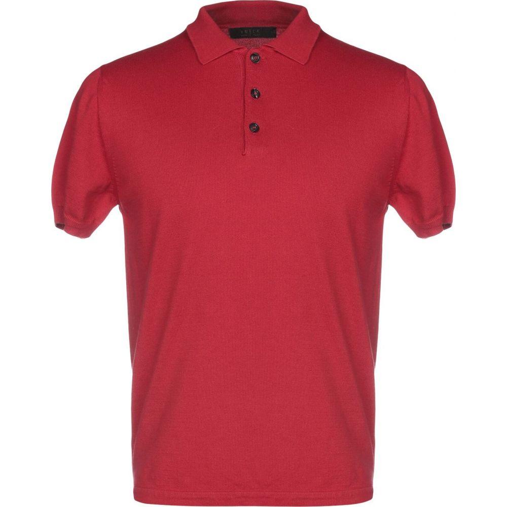 ブイネック VNECK メンズ ニット・セーター トップス【sweater】Red