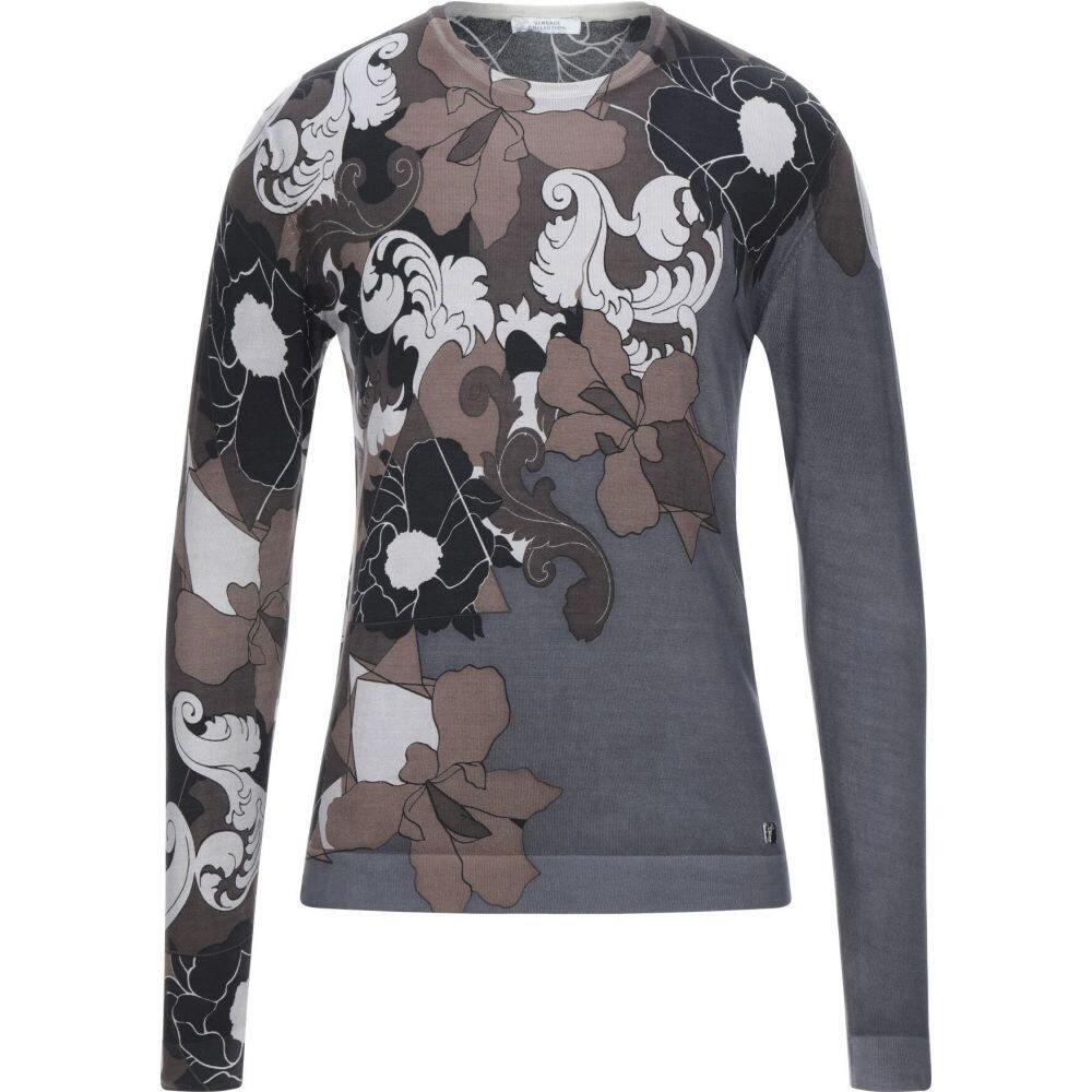 ヴェルサーチ VERSACE COLLECTION メンズ ニット・セーター トップス【sweater】Lead