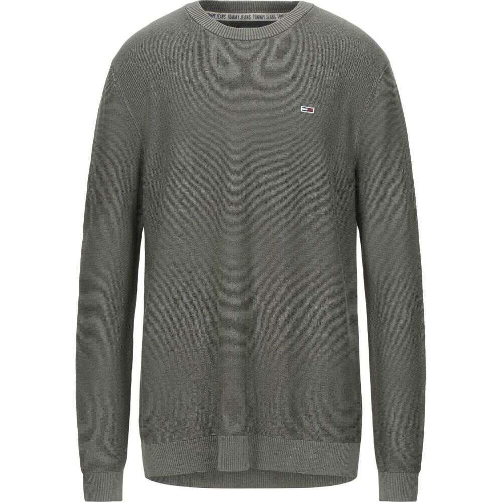 トミー ジーンズ TOMMY JEANS メンズ ニット・セーター トップス【sweater】Military green
