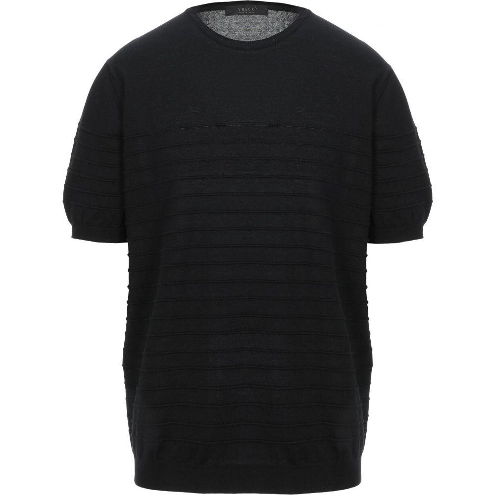 ブイネック VNECK メンズ ニット・セーター トップス【sweater】Black