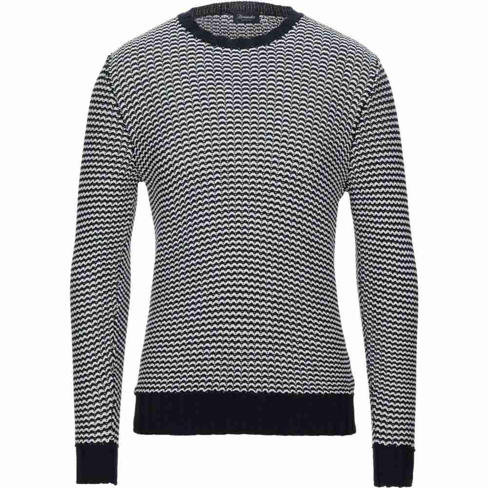 ドルモア メンズ トップス ニット・セーター Dark blue 【サイズ交換無料】 ドルモア DRUMOHR メンズ ニット・セーター トップス【Sweater】Dark blue
