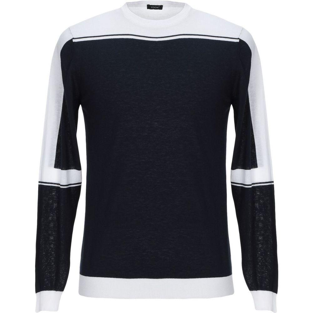 ヨーン YOON メンズ ニット・セーター トップス【sweater】Dark blue