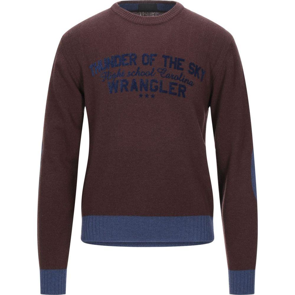 ラングラー WRANGLER メンズ ニット・セーター トップス【sweater】Brown