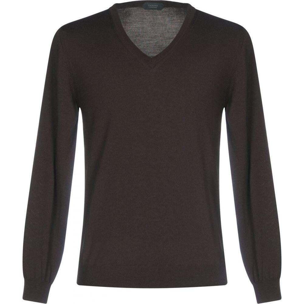 ザノーネ ZANONE メンズ ニット・セーター トップス【sweater】Cocoa