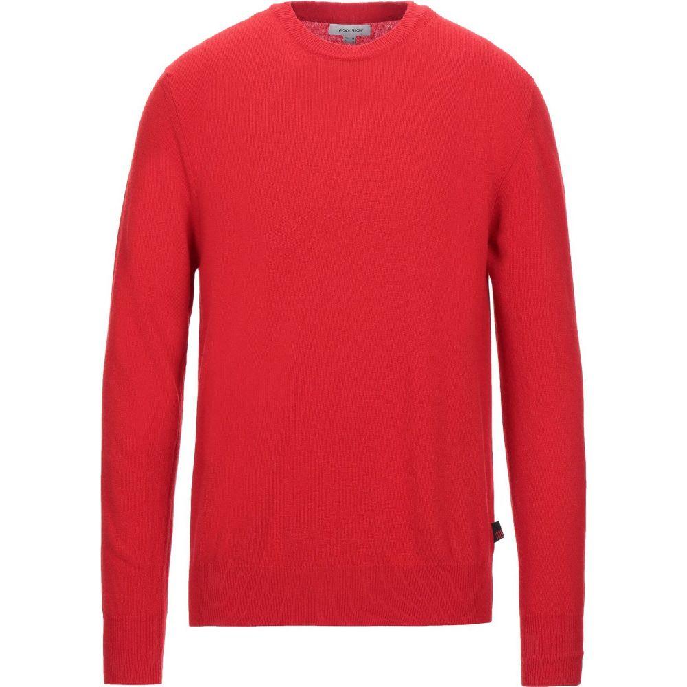 ウールリッチ WOOLRICH メンズ ニット・セーター トップス【sweater】Red