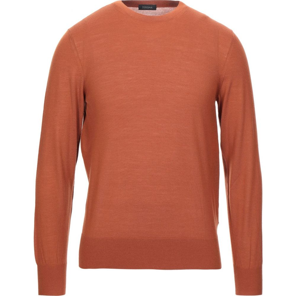 ZZEGNA メンズ ニット・セーター トップス【sweater】Rust