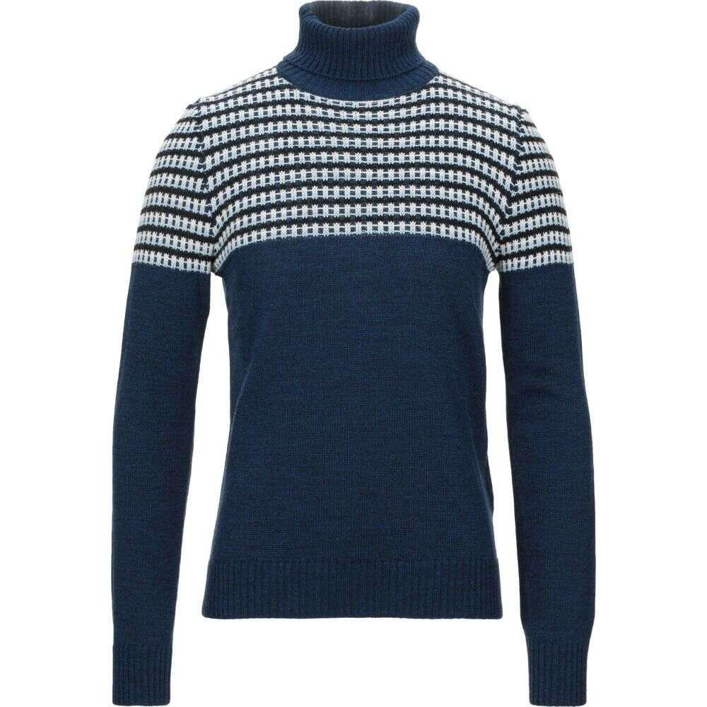 ヨーン メンズ トップス ニット マート セーター YOON サイズ交換無料 Dark 新作続 blue turtleneck