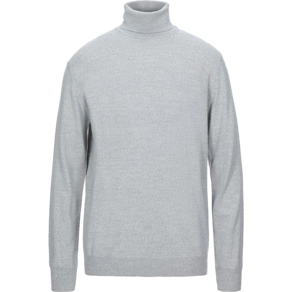ブイネック VNECK メンズ ニット・セーター トップス【turtleneck】Light grey
