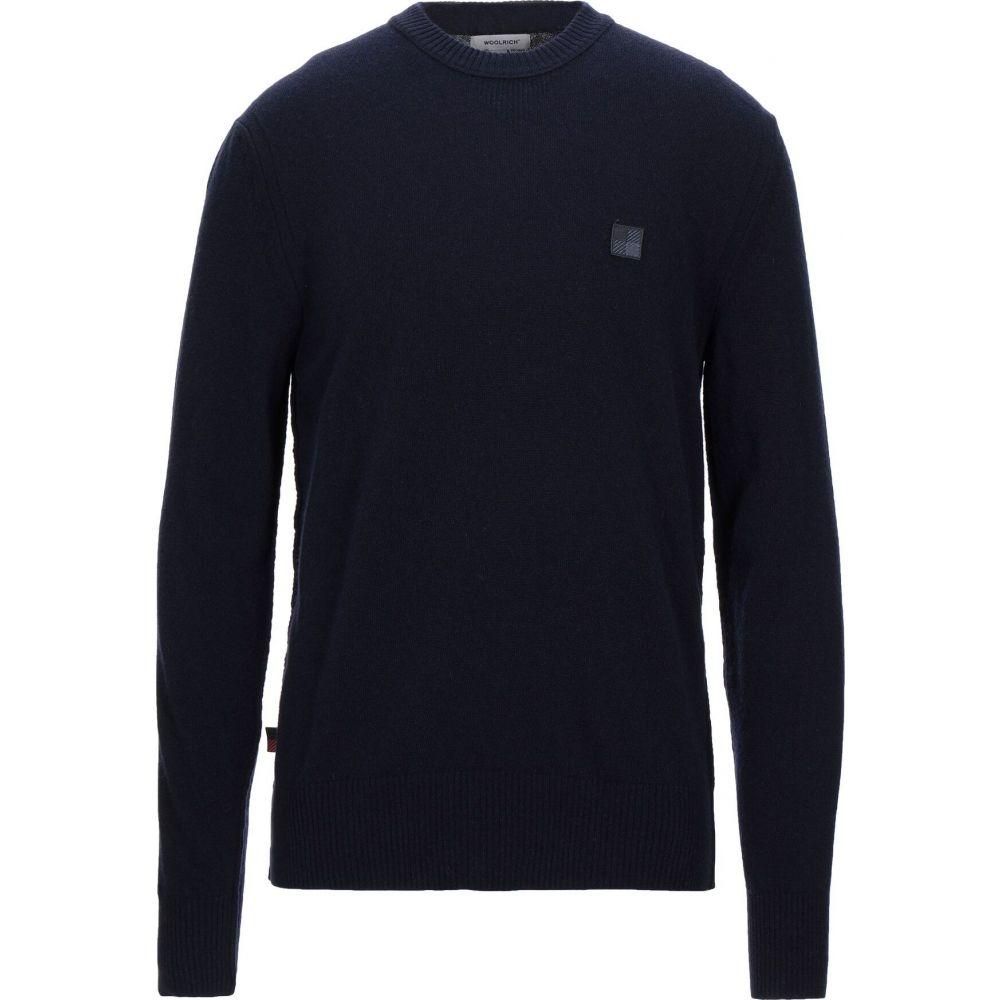 ウールリッチ WOOLRICH メンズ ニット・セーター トップス【sweater】Dark blue