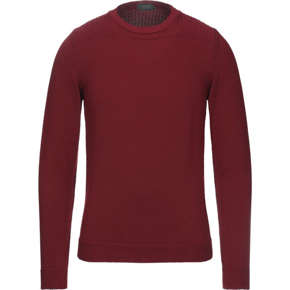 ザノーネ ZANONE メンズ ニット・セーター トップス【sweater】Maroon