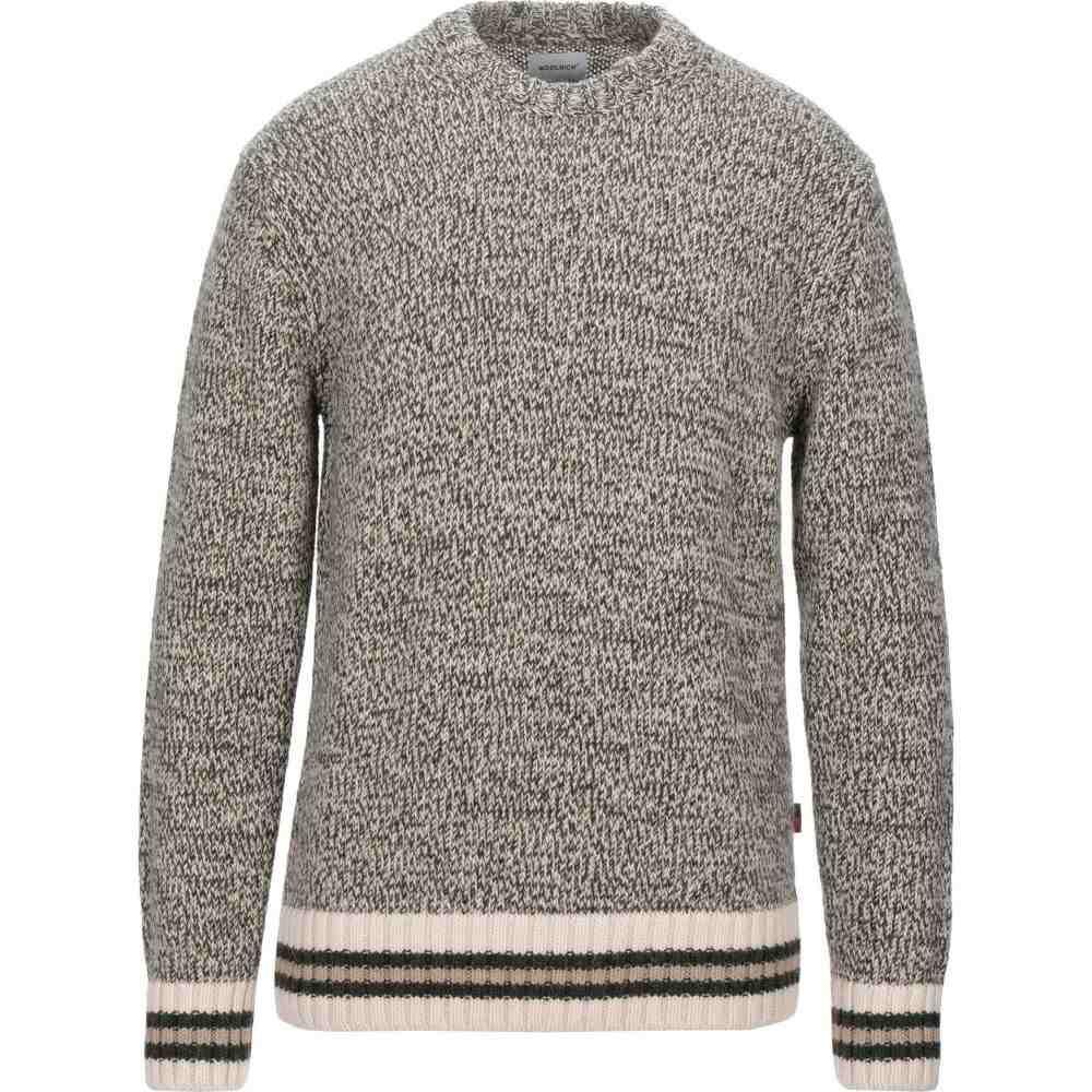 ウールリッチ WOOLRICH メンズ ニット・セーター トップス【sweater】Military green