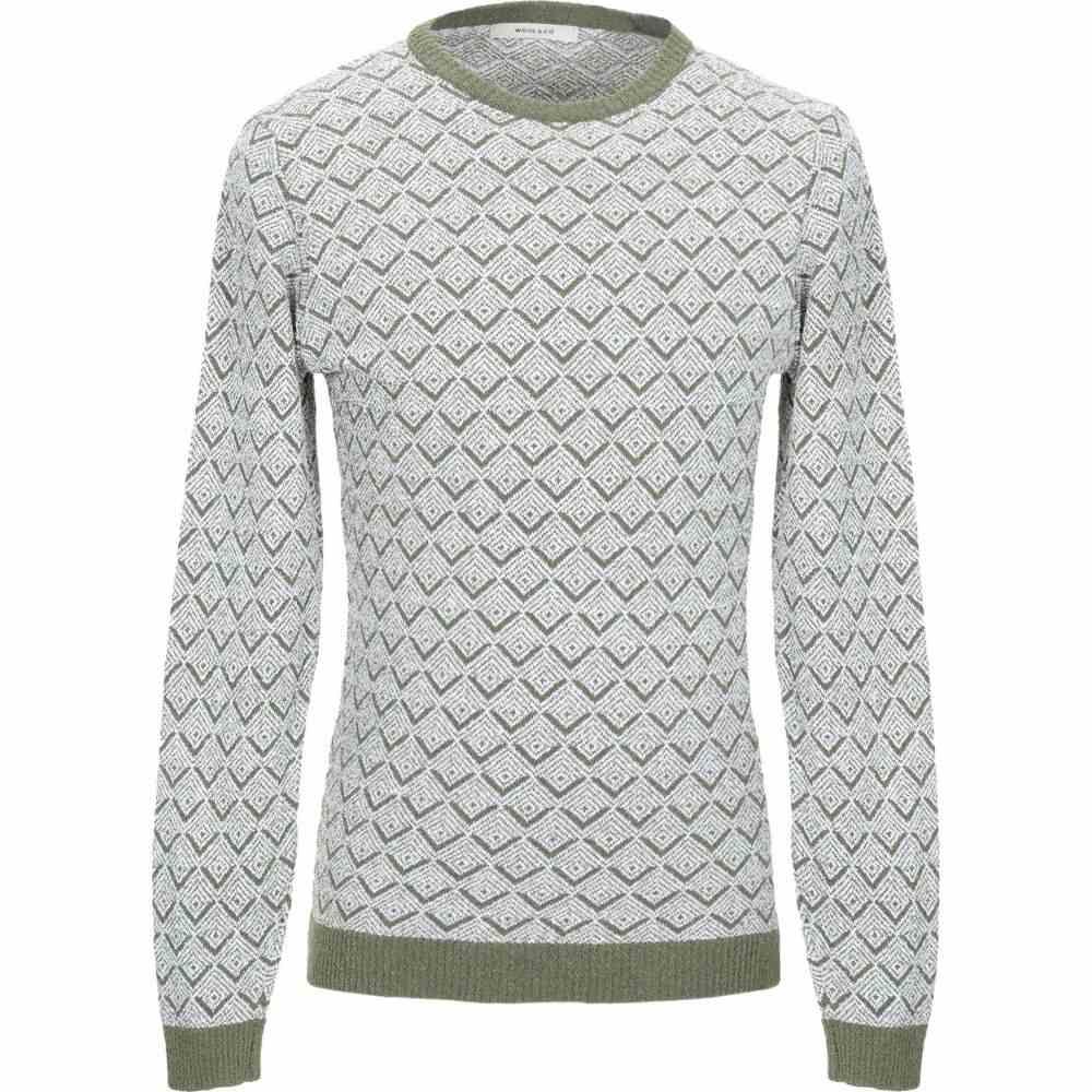 ウールアンドコー WOOL & CO メンズ ニット・セーター トップス【sweater】Military green