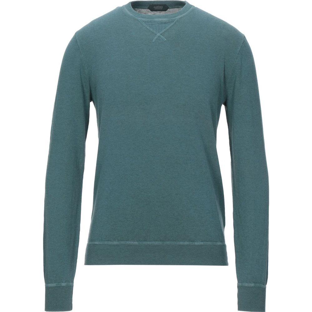 ザノーネ ZANONE メンズ ニット・セーター トップス【sweater】Deep jade