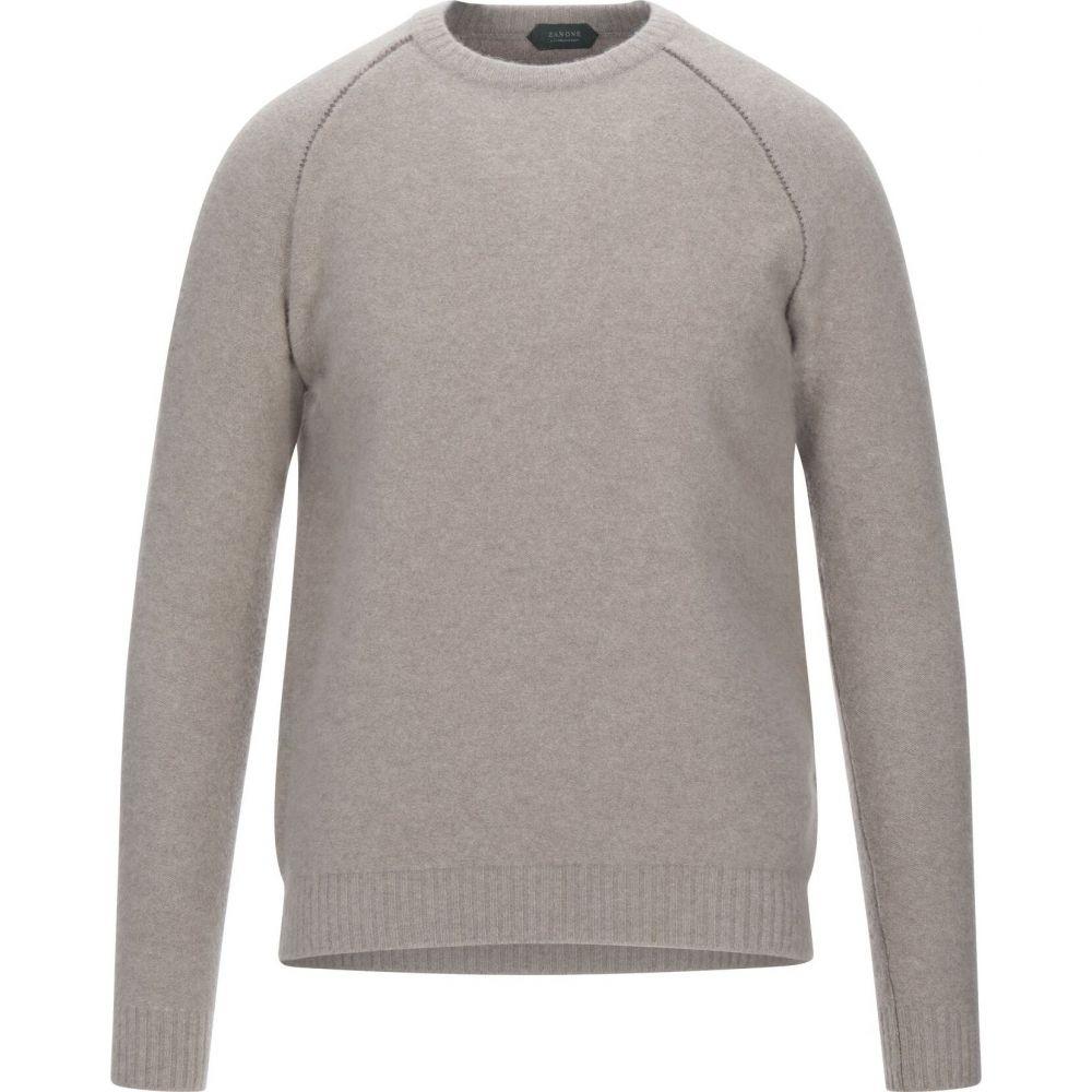 ザノーネ ZANONE メンズ ニット・セーター トップス【sweater】Light brown