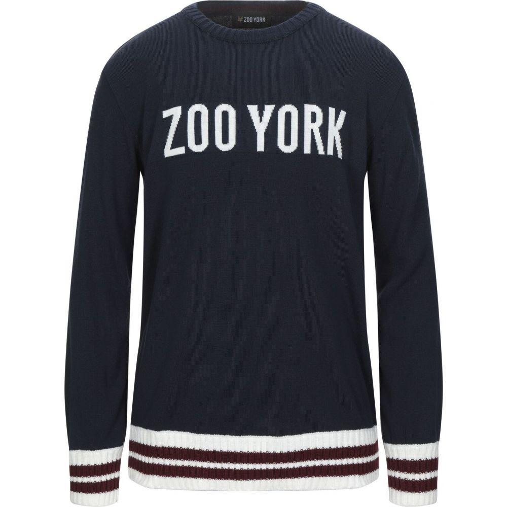 ズーヨーク ZOO YORK メンズ ニット・セーター トップス【sweater】Dark blue