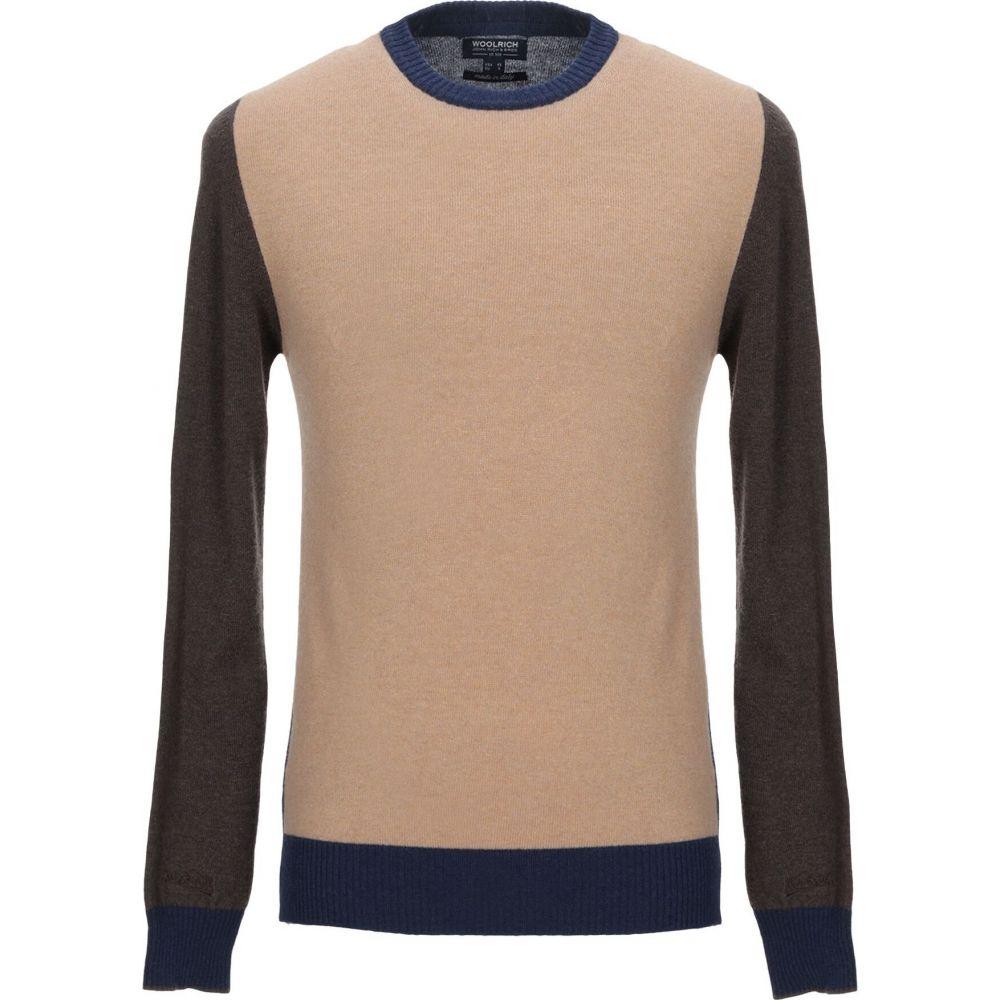 ウールリッチ WOOLRICH メンズ ニット・セーター トップス【sweater】Sand