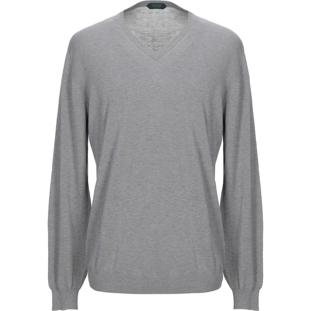 ザノーネ ZANONE メンズ ニット・セーター トップス【sweater】Grey