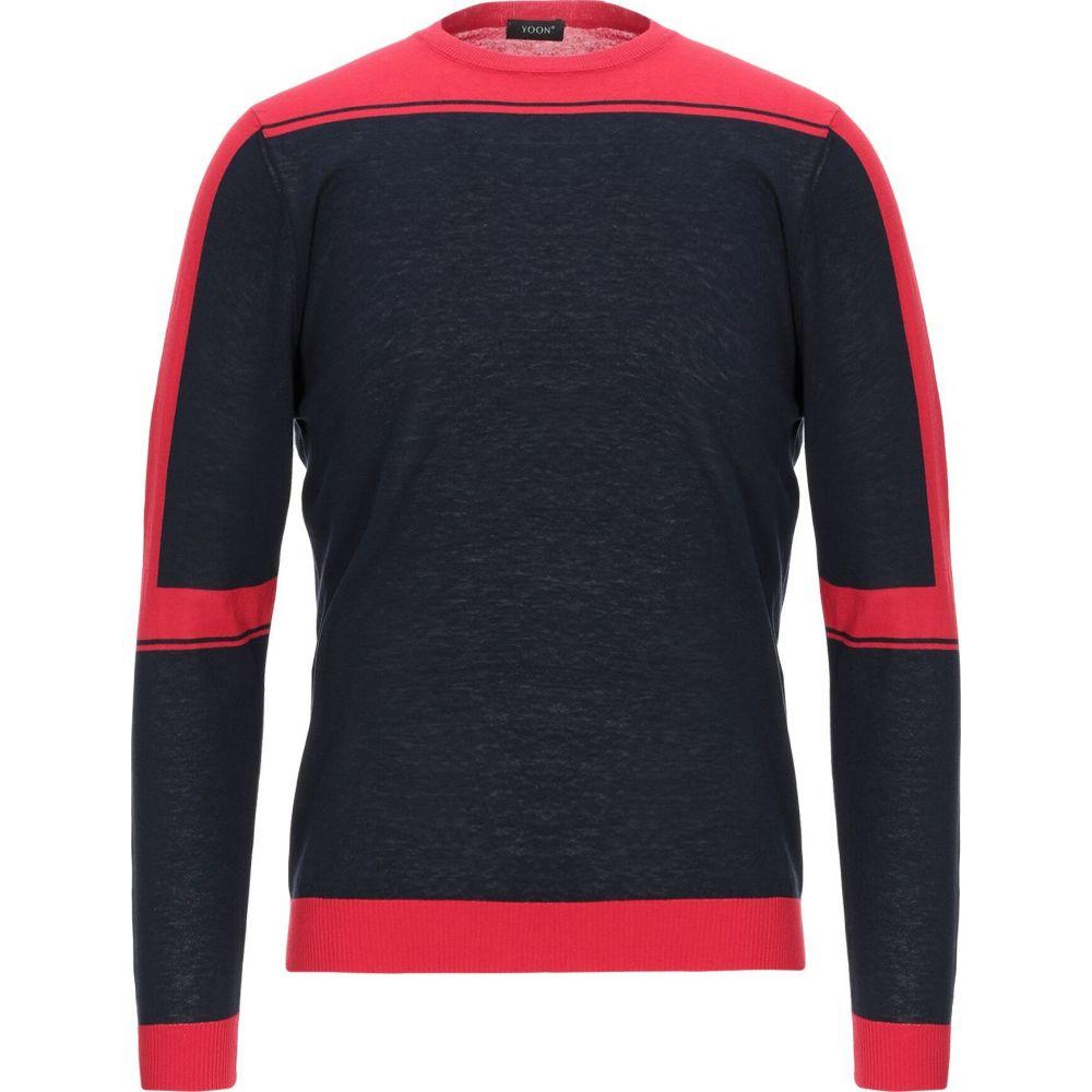 ヨーン YOON メンズ ニット・セーター トップス【sweater】Red