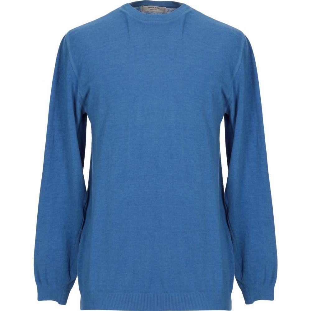 ウールアンドコー WOOL & CO メンズ ニット・セーター トップス【sweater】Azure
