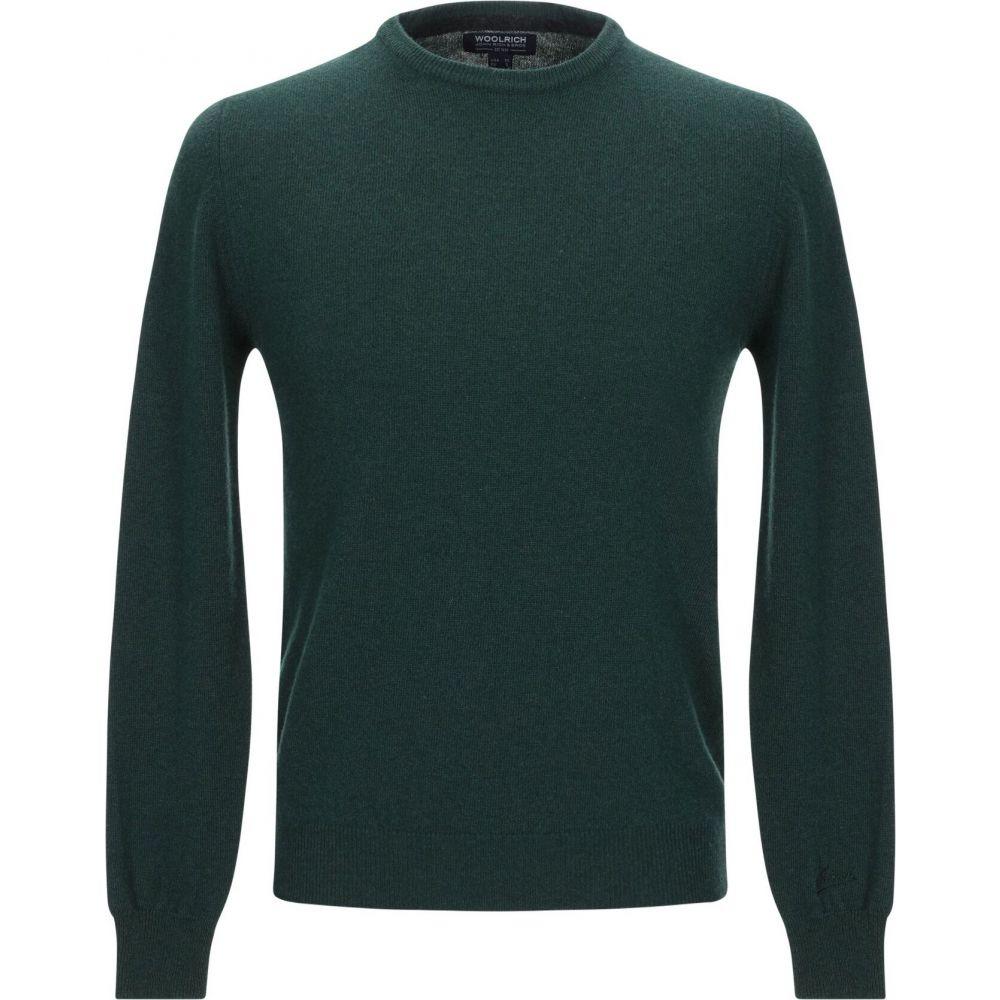 ウールリッチ WOOLRICH メンズ ニット・セーター トップス【sweater】Green
