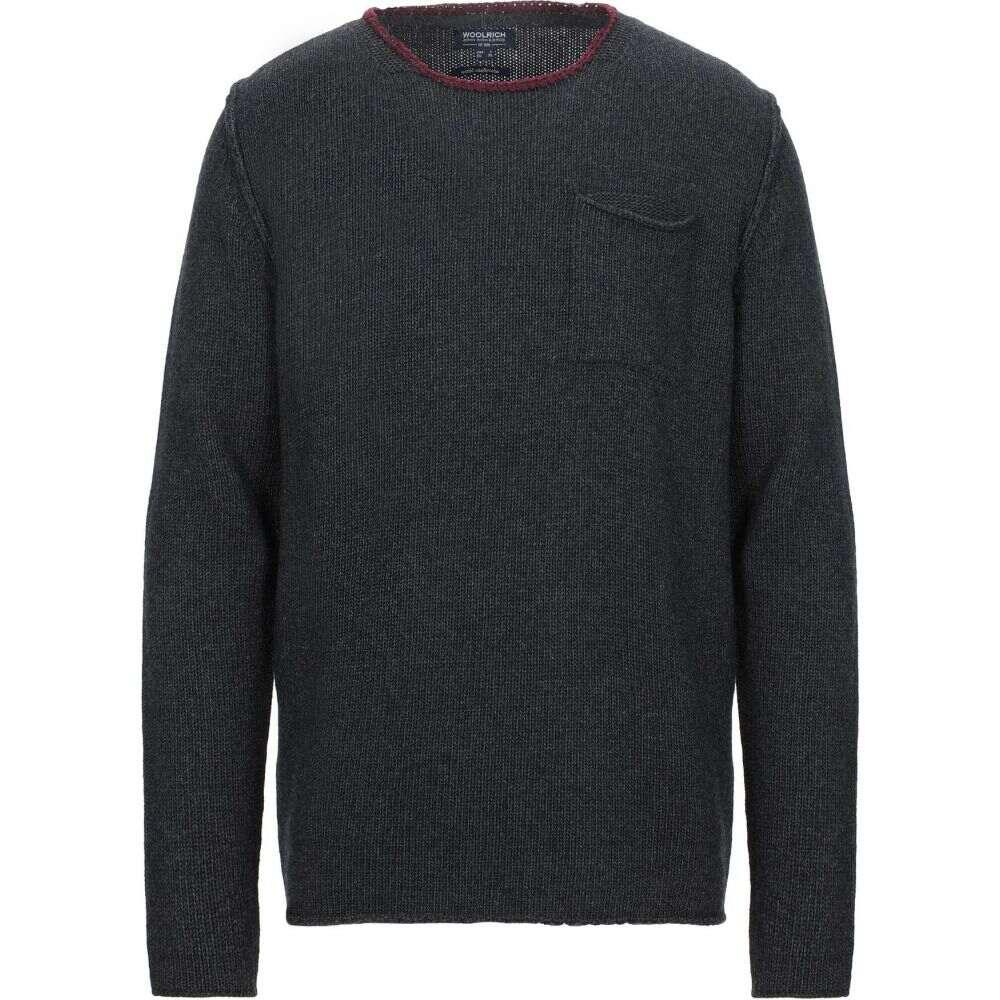 ウールリッチ WOOLRICH メンズ ニット・セーター トップス【sweater】Steel grey