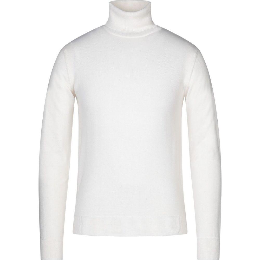 ブイネック VNECK メンズ ニット・セーター トップス【turtleneck】Ivory