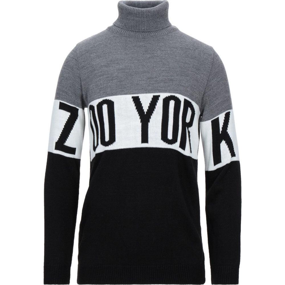 ズーヨーク ZOO YORK メンズ ニット・セーター トップス【turtleneck】Grey