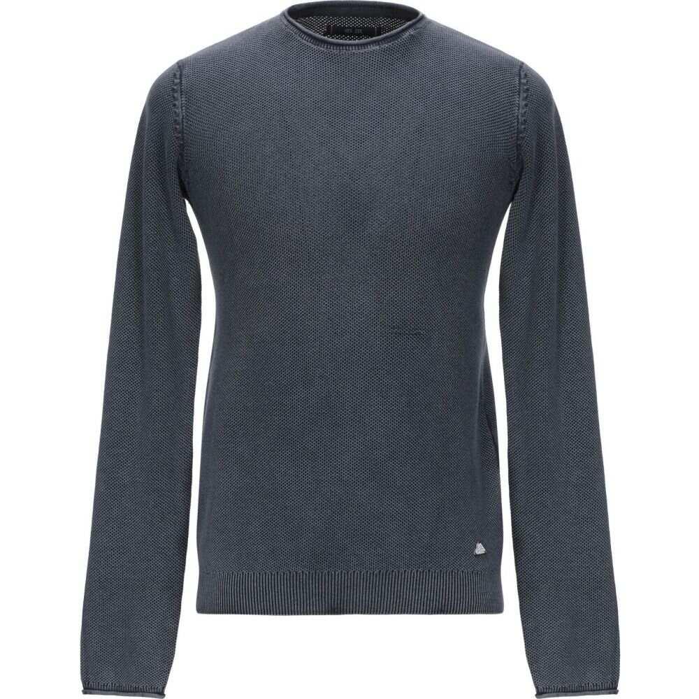 イエスズィー バイ エッセンツァ YES ZEE by ESSENZA メンズ ニット・セーター トップス【sweater】Dark blue