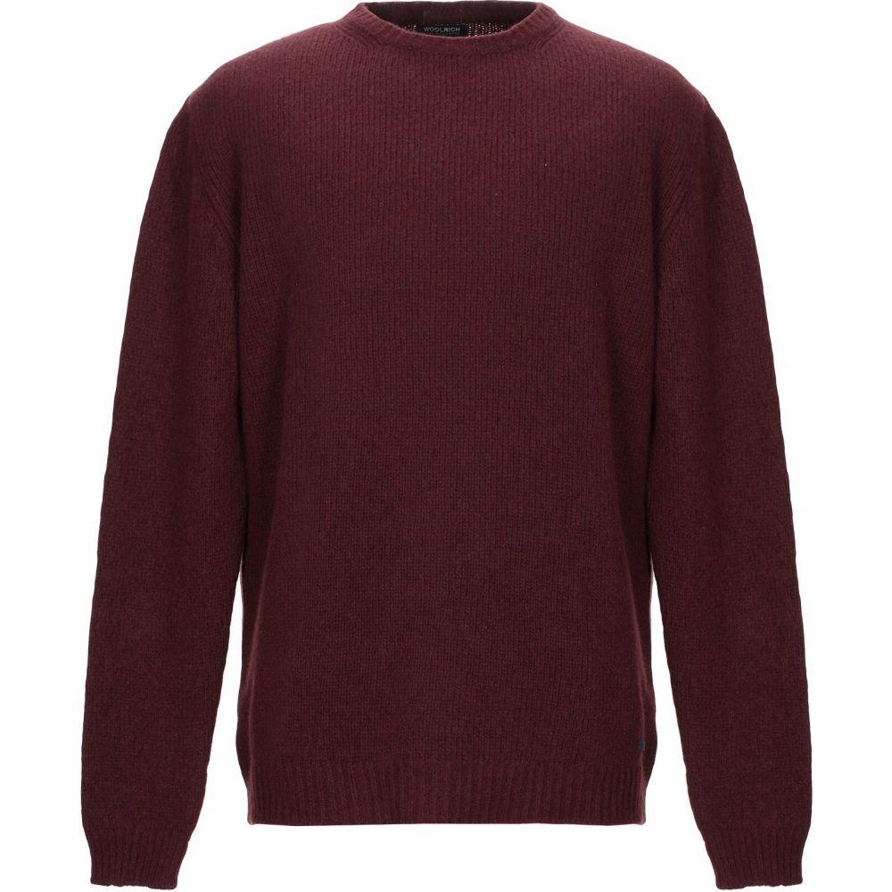 ウールリッチ WOOLRICH メンズ ニット・セーター トップス【sweater】Maroon