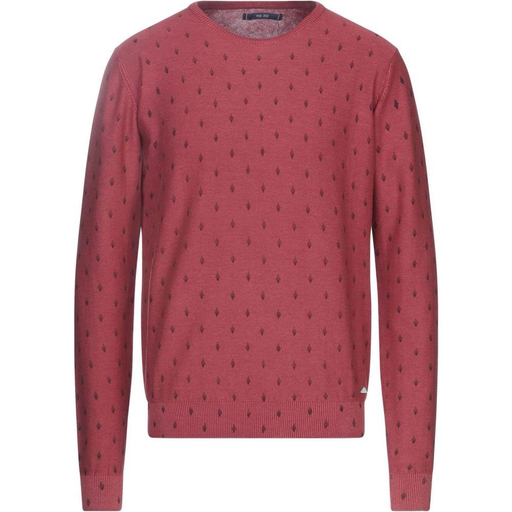 イエスズィー バイ エッセンツァ YES ZEE by ESSENZA メンズ ニット・セーター トップス【sweater】Brick red