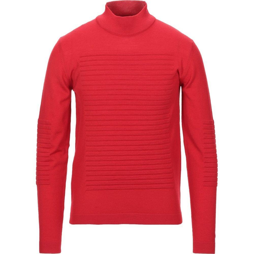 ヨーン YOON メンズ ニット・セーター トップス【turtleneck】Red