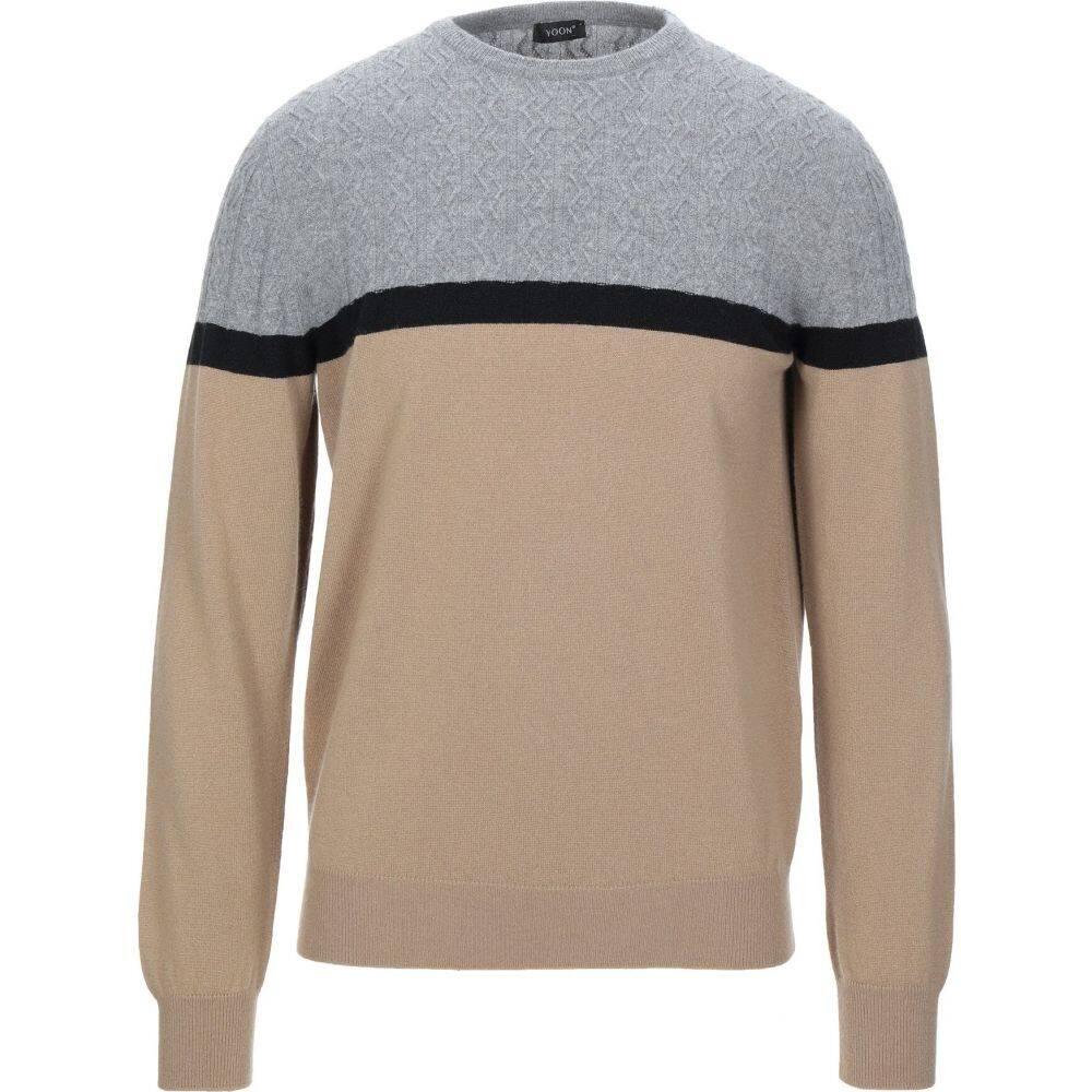 ヨーン YOON メンズ ニット・セーター トップス【cashmere blend】Grey