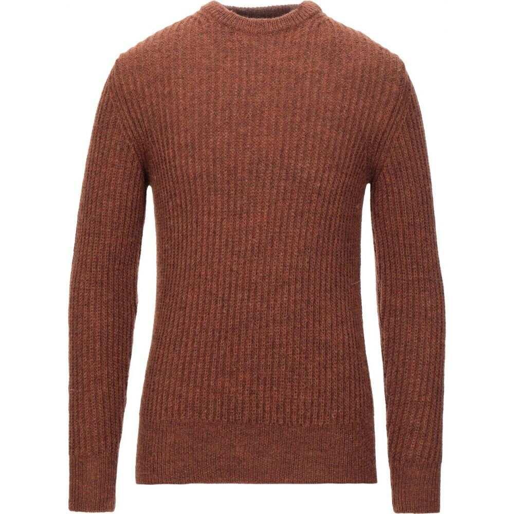 ブイネック VNECK メンズ ニット・セーター トップス【sweater】Brown