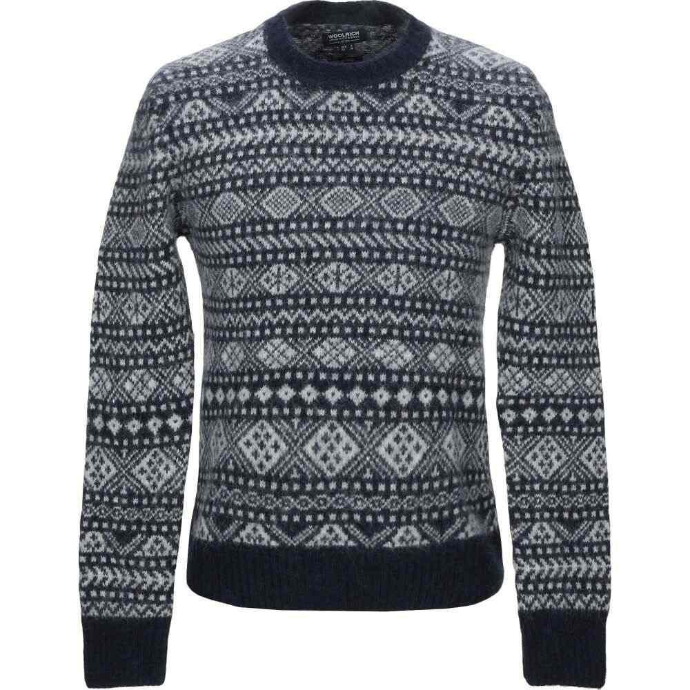 ウールリッチ WOOLRICH メンズ ニット・セーター トップス【sweater】Blue