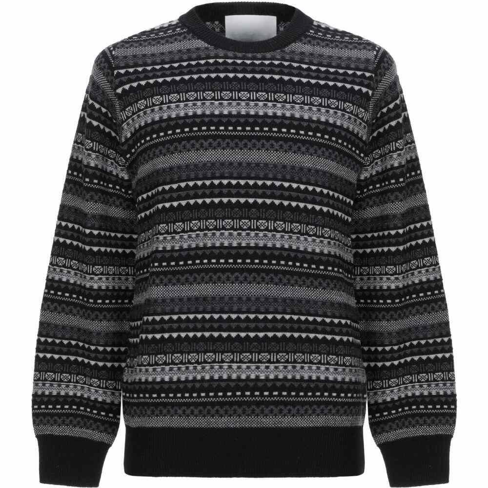 ホワイトマウンテニアリング WHITE MOUNTAINEERING メンズ ニット・セーター トップス【sweater】Black