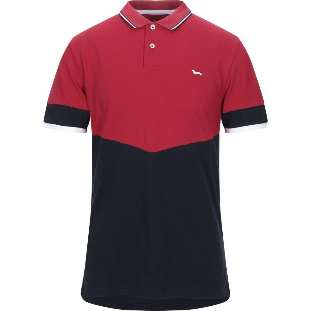 ハーモント アンド ブレイン HARMONT&BLAINE メンズ Tシャツ トップス【t-shirt】Red