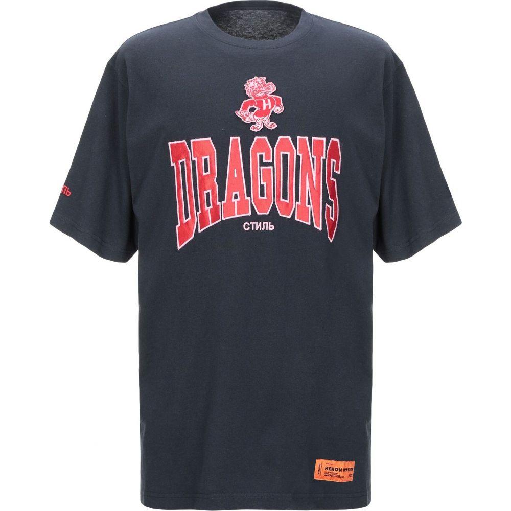 ヘロン プレストン HERON PRESTON メンズ Tシャツ トップス【t-shirt】Dark blue
