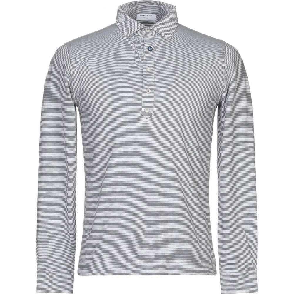 ヘリテイジ HERITAGE メンズ Tシャツ トップス【t-shirt】Grey