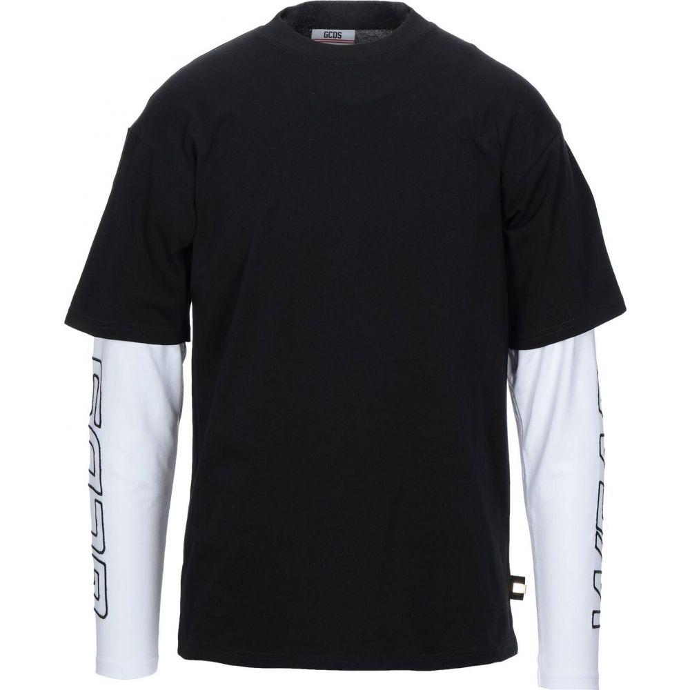 ジーシーディーエス GCDS メンズ Tシャツ トップス【t-shirt】Black