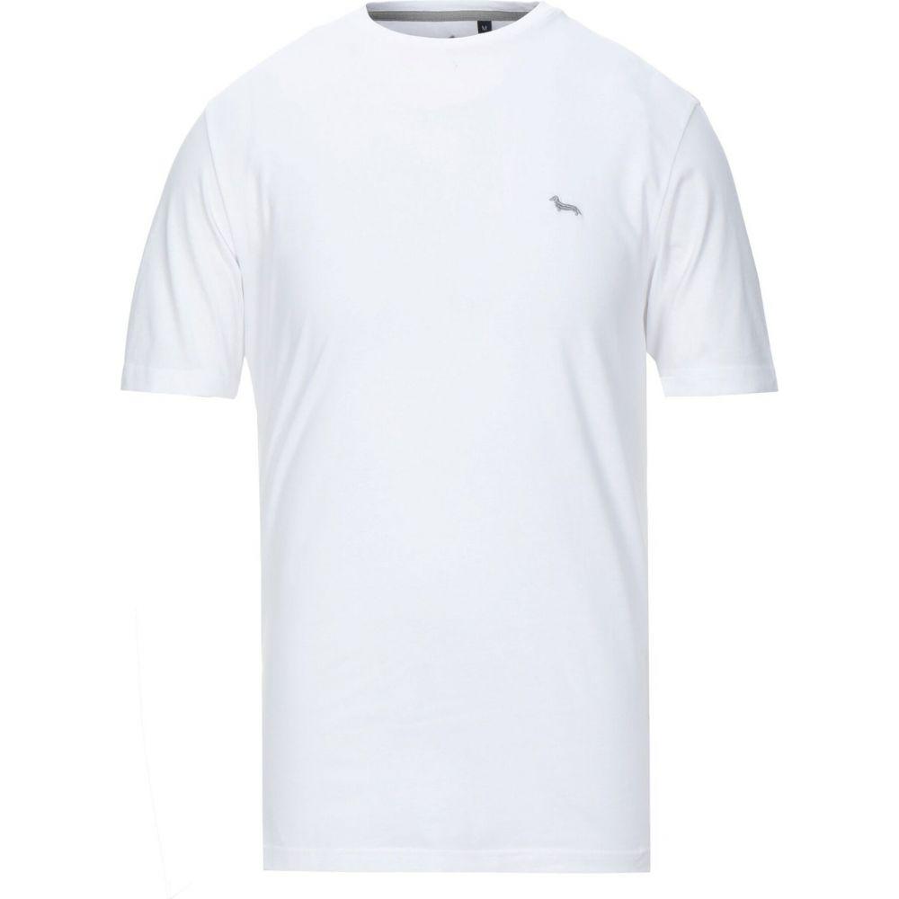 ハーモント アンド ブレイン HARMONT&BLAINE メンズ Tシャツ トップス【t-shirt】White
