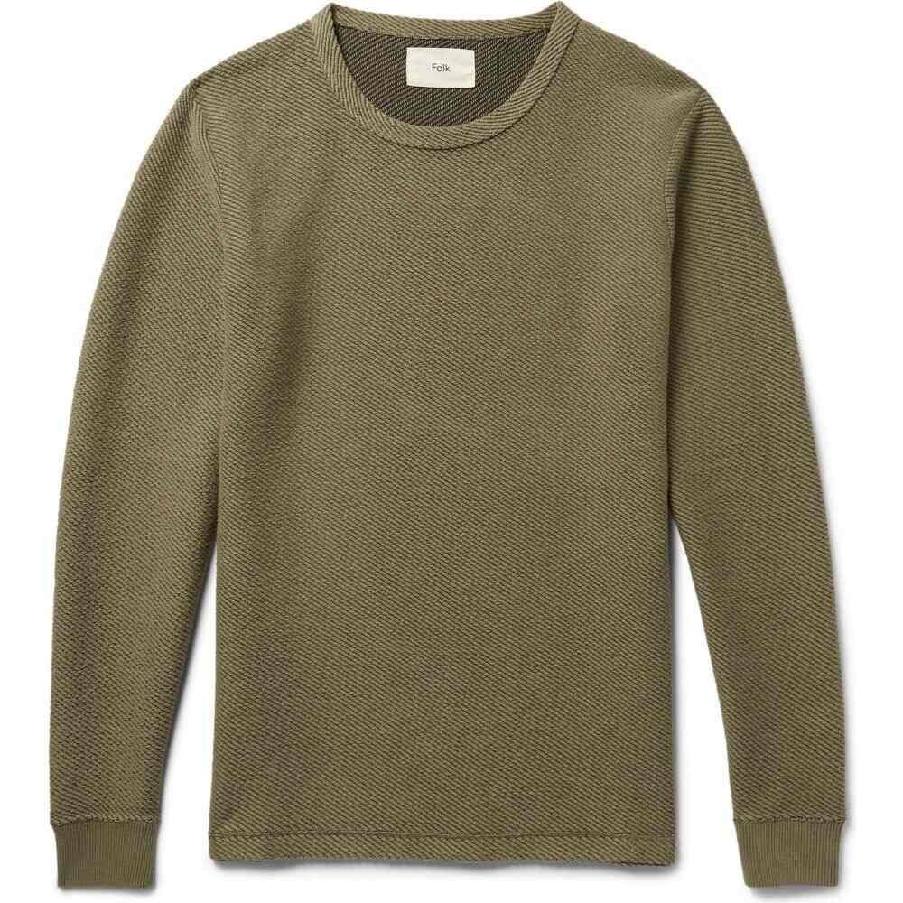 フォーク FOLK メンズ Tシャツ トップス【t-shirt】Military green
