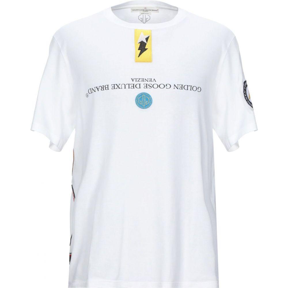 ゴールデン グース GOLDEN GOOSE DELUXE BRAND メンズ Tシャツ トップス【t-shirt】White