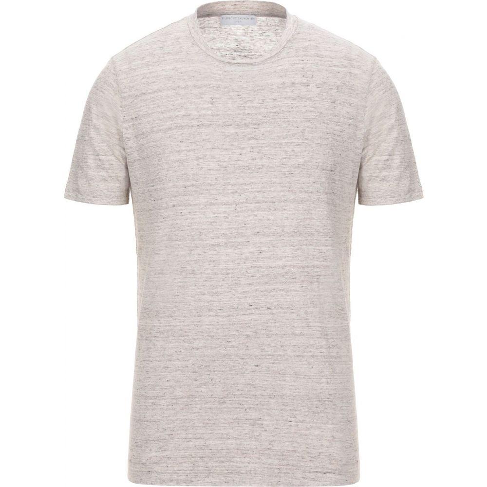 フィリッポ デ ローレンティス FILIPPO DE LAURENTIIS メンズ Tシャツ トップス【t-shirt】Dove grey