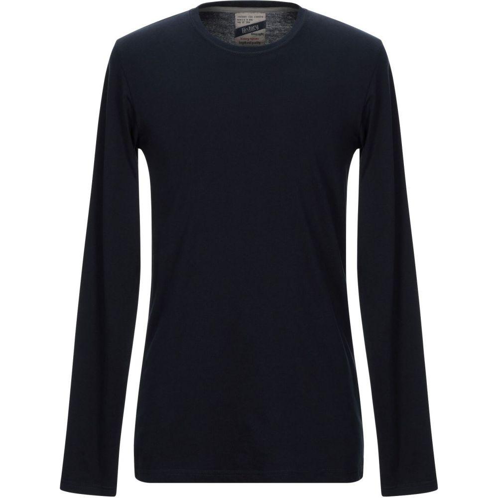 ヒストリー リピート HISTORY REPEATS メンズ Tシャツ トップス【t-shirt】Dark blue