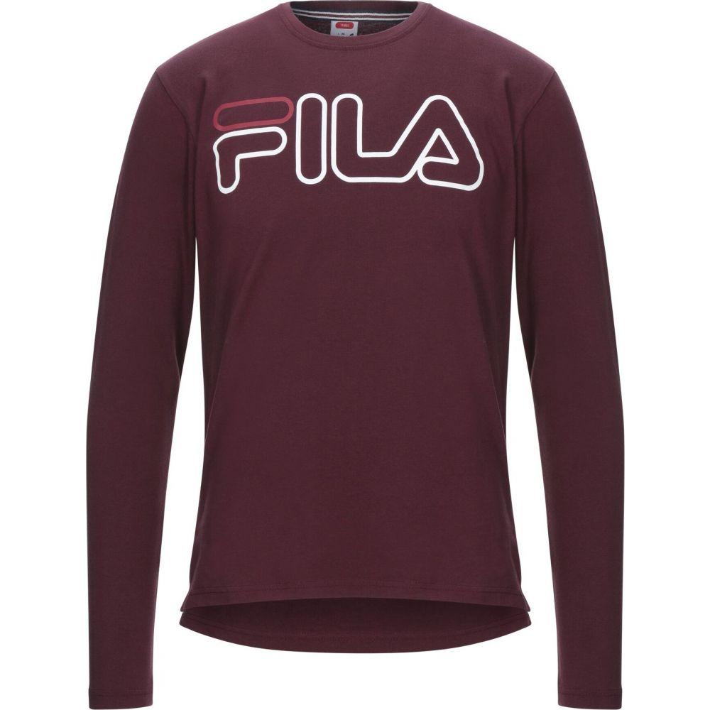 フィラ FILA メンズ Tシャツ トップス【t-shirt】Maroon