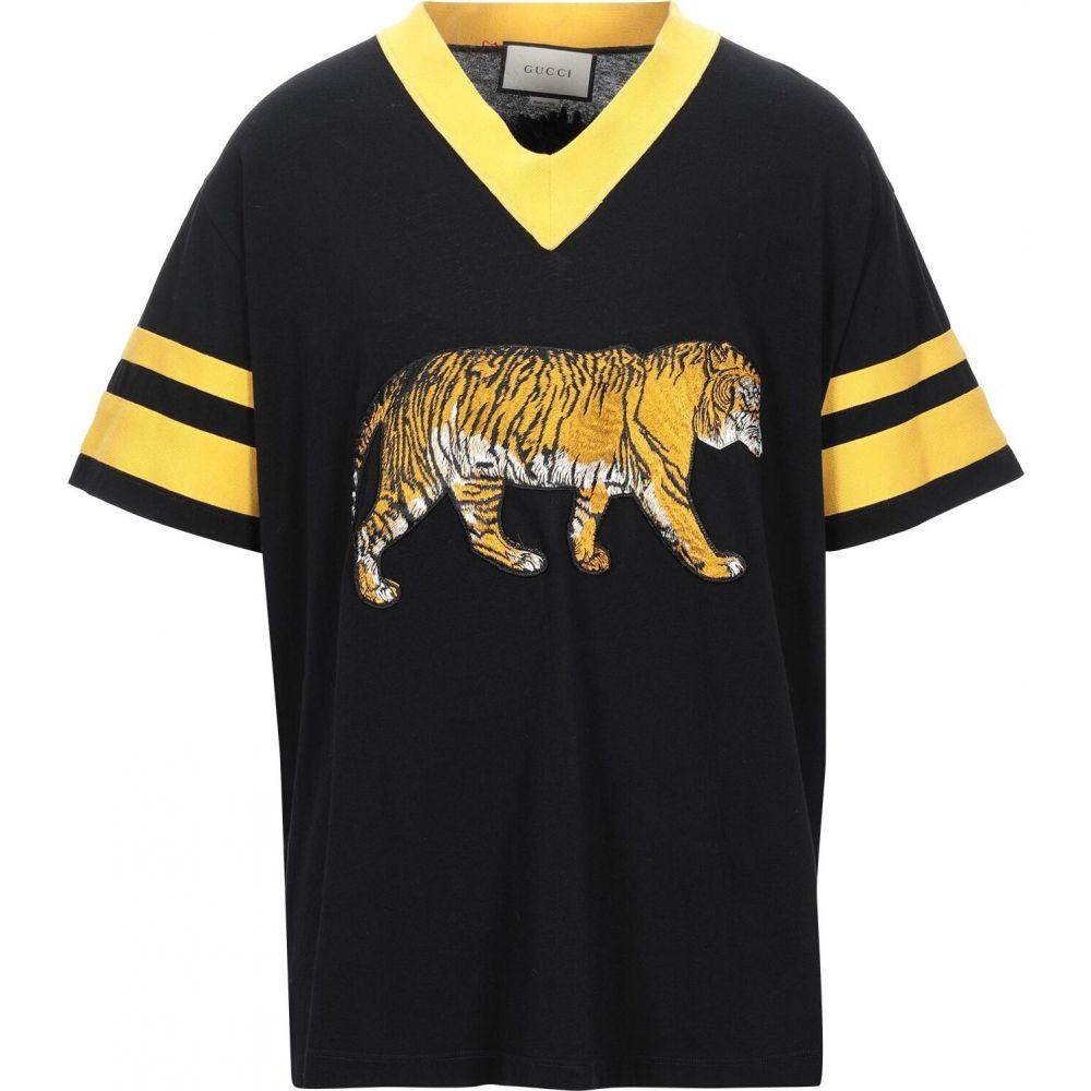 グッチ GUCCI メンズ Tシャツ トップス【t-shirt】Black