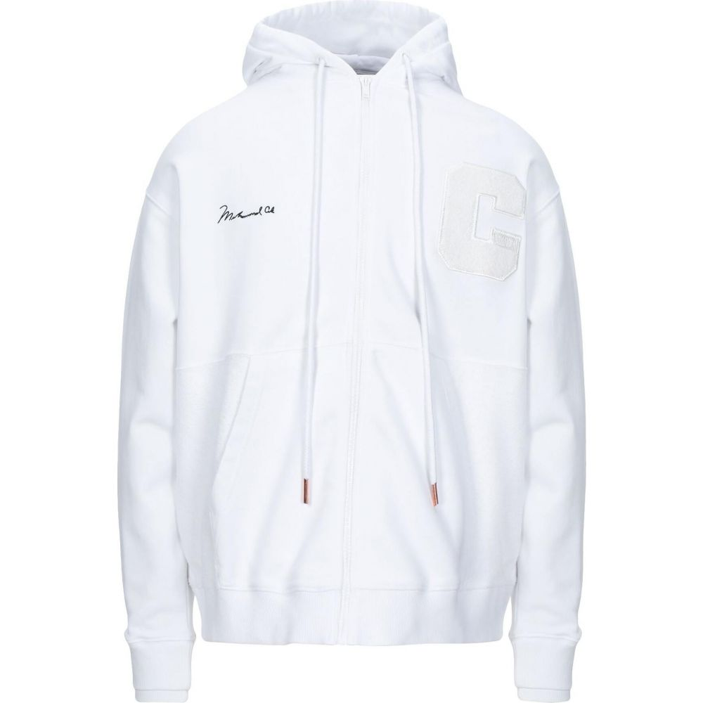 マルセロバーロン MARCELO BURLON メンズ パーカー トップス hooded sweatshirt White 暑中見舞い ホワイトデー 入学祝