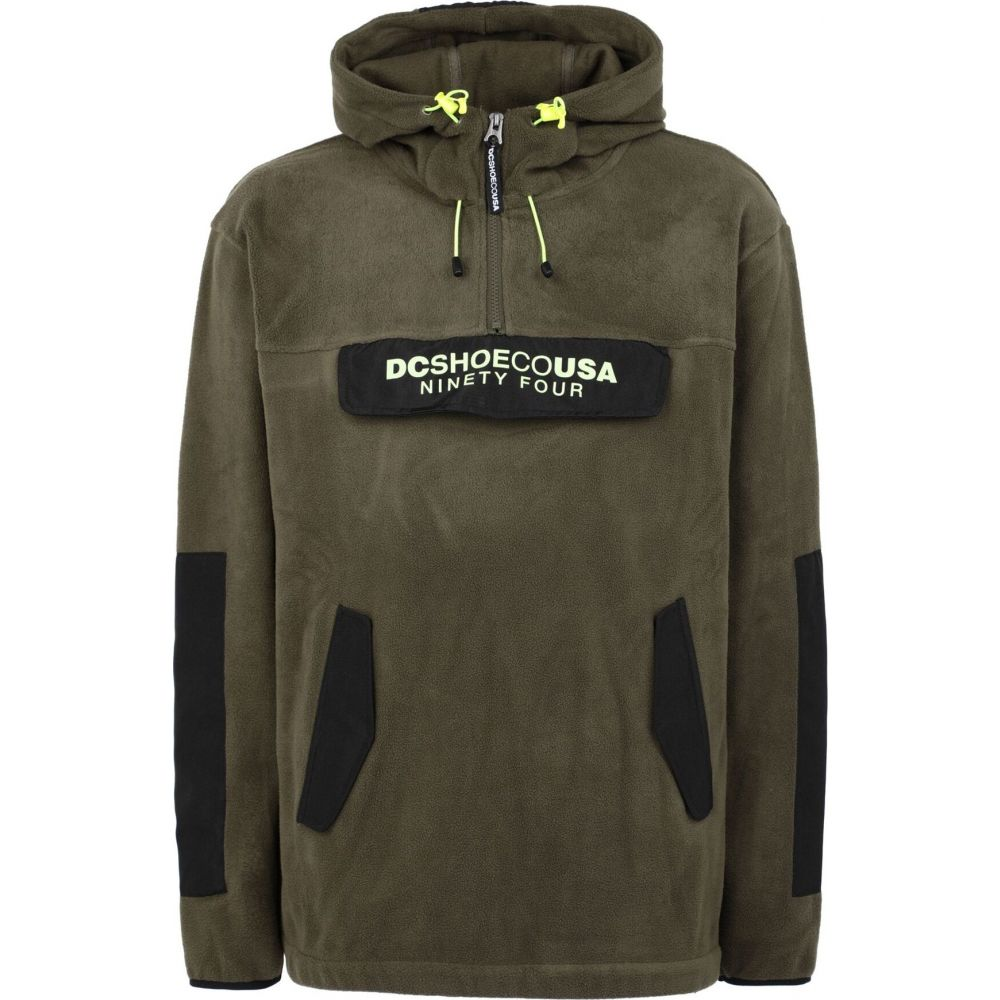 ディーシー DC SHOES メンズ フリース トップス【dc fleece tagans hood】Military green