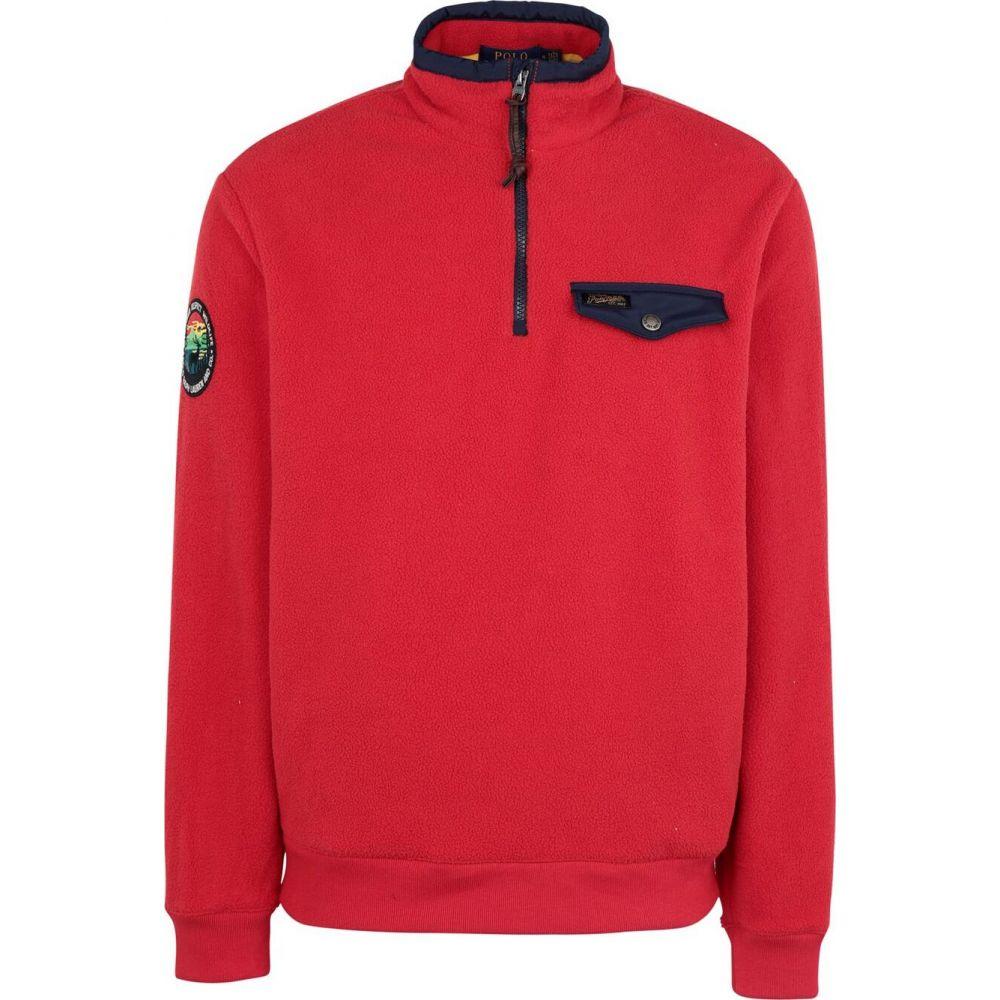 ラルフ ローレン POLO RALPH LAUREN メンズ フリース トップス【fleece half zip pullover】Red